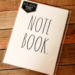 Rae Dunn Note Book and Sketch Book Bundle